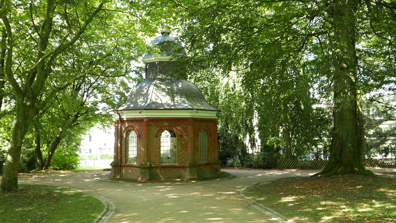 Der Schwelmer Brunnen (Brunnen-Häuschen) – Gründungsort der Schwelmer Freimaurer-Loge